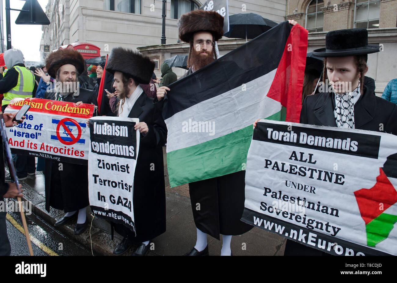 National Demonstration for Palestine - Stock Image
