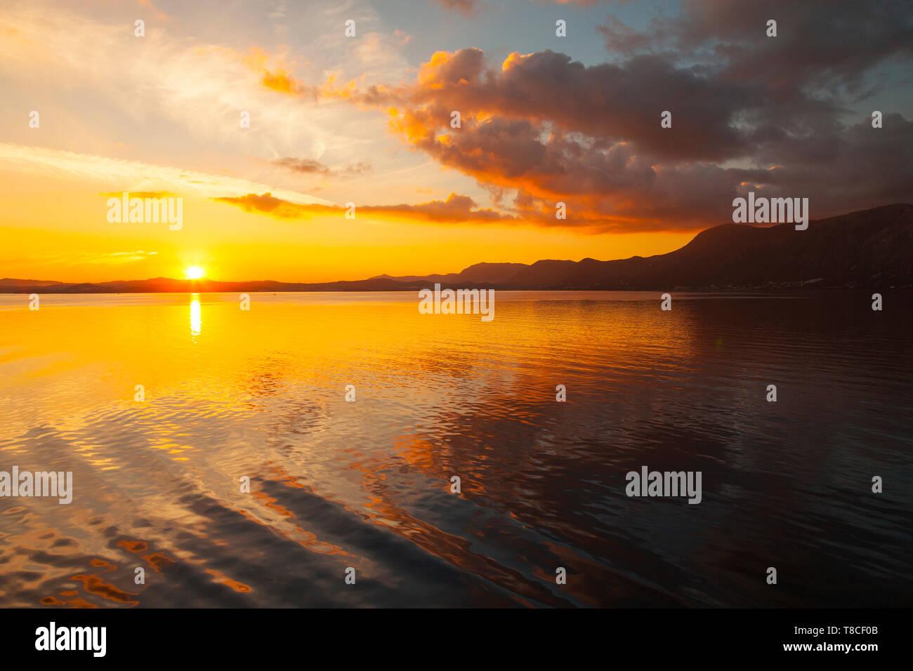 Isla Corfú, Islas Jónicas, Grecia, Mar Mediterráneo - Stock Image