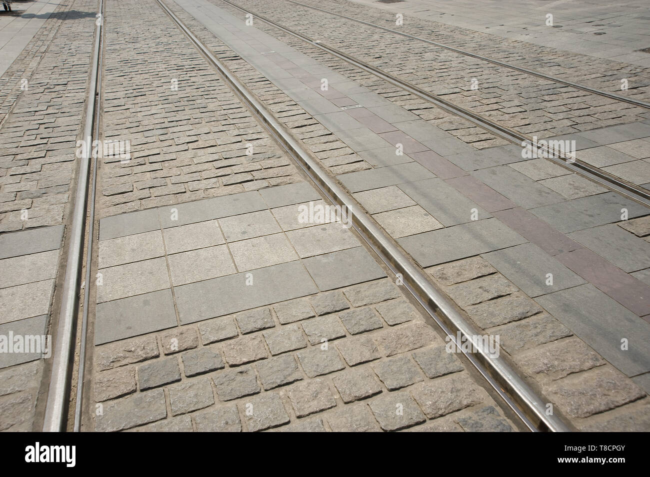 Orleans, Tramway Stock Photo