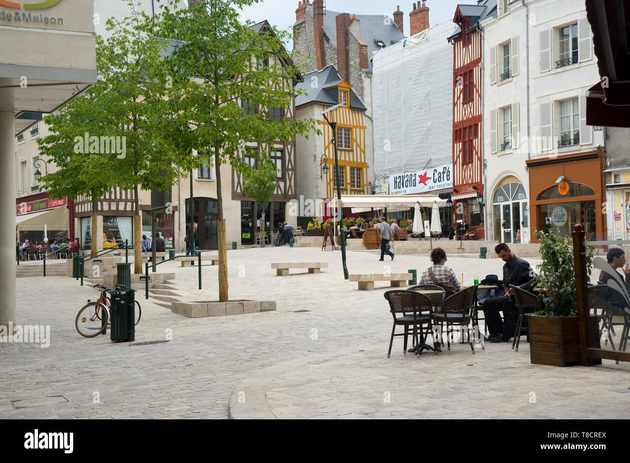 Maison Du Convertible Sebastopol chatelet square stock photos & chatelet square stock images