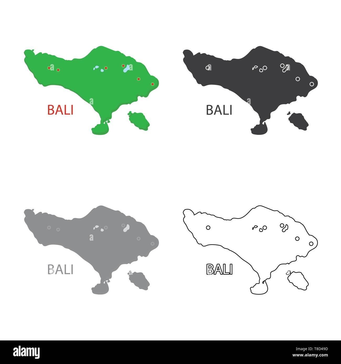 Bali Map Stock Photos Bali Map Stock Images Alamy