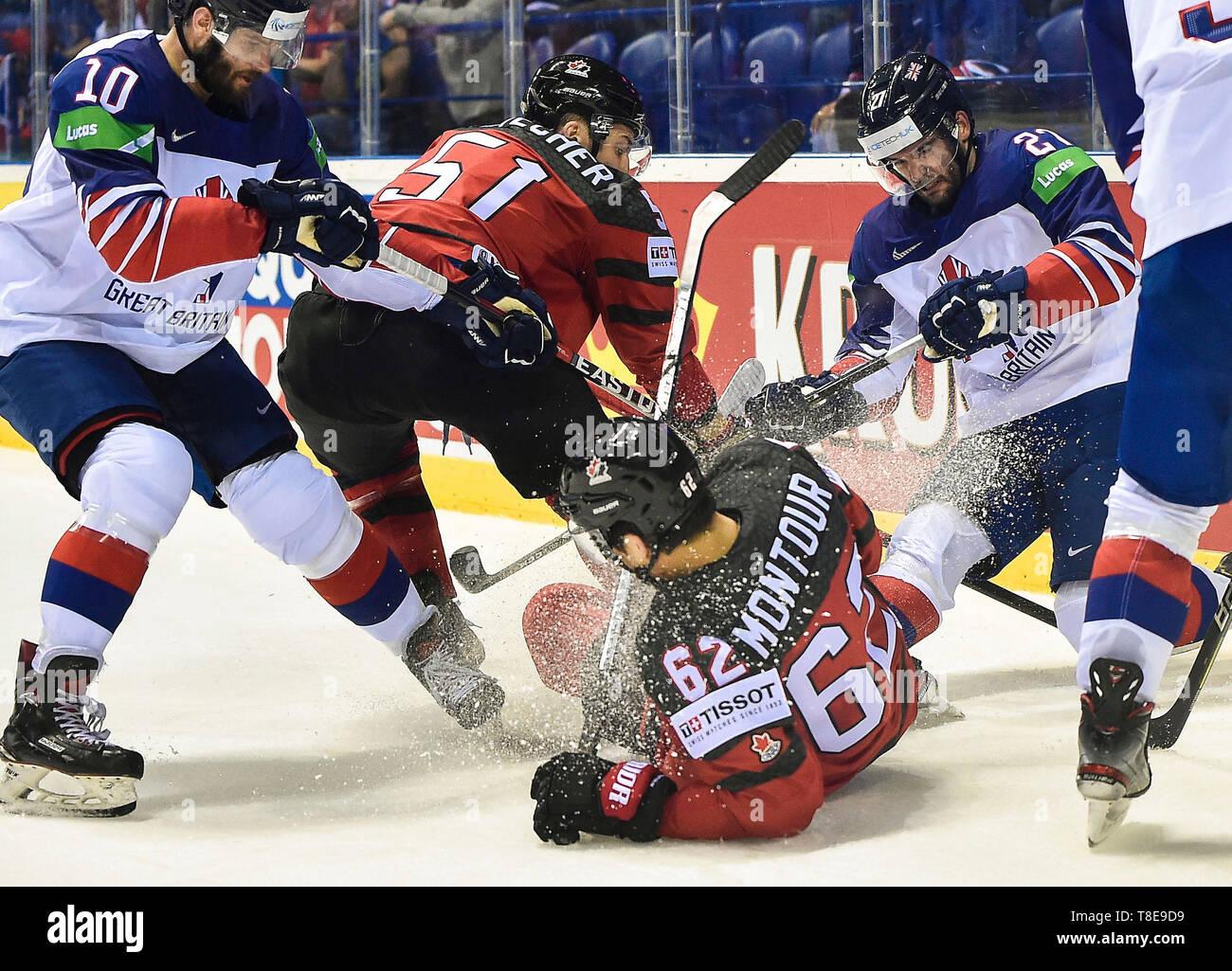 Ice Hockey Canada Fight Stock Photos Ice Hockey Canada Fight Stock