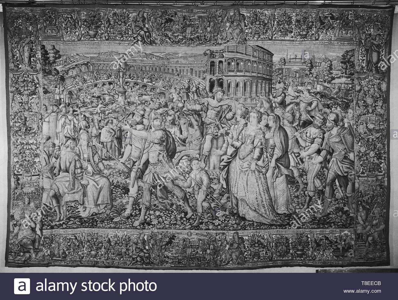 Heemskerck, Marten van (Netherlandish (before 1600) - North Netherlands, 1498-1574) (designed after) [printmaker] br Tempesta, Antonio (Italian, 1555-1630) (designed after) [printmaker] br Guebels, Jacques I (Nether - Stock Image