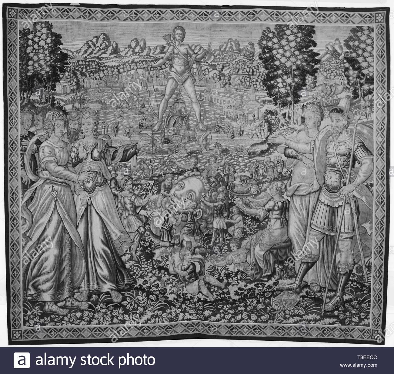 Heemskerck, Marten van (Netherlandish (before 1600) - North Netherlands, 1498-1574) (designed after) [printmaker] br Vos, Marten de (Netherlandish (before 1600) - Flanders, 1532-1603) (designed after) [printmaker]-Col - Stock Image