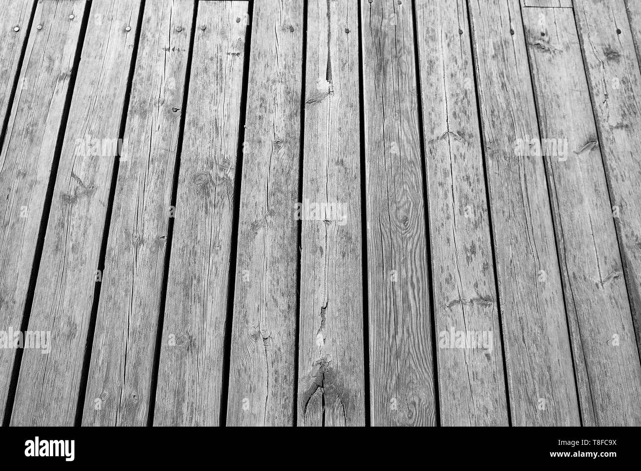abstract textured wooden or timber background grey color, wood parquet or laminate with nobody - Stock Image