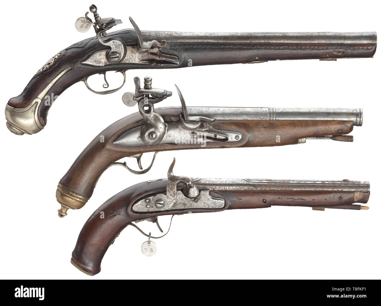 Two Guns Cut Out Stock Images & Pictures - Alamy