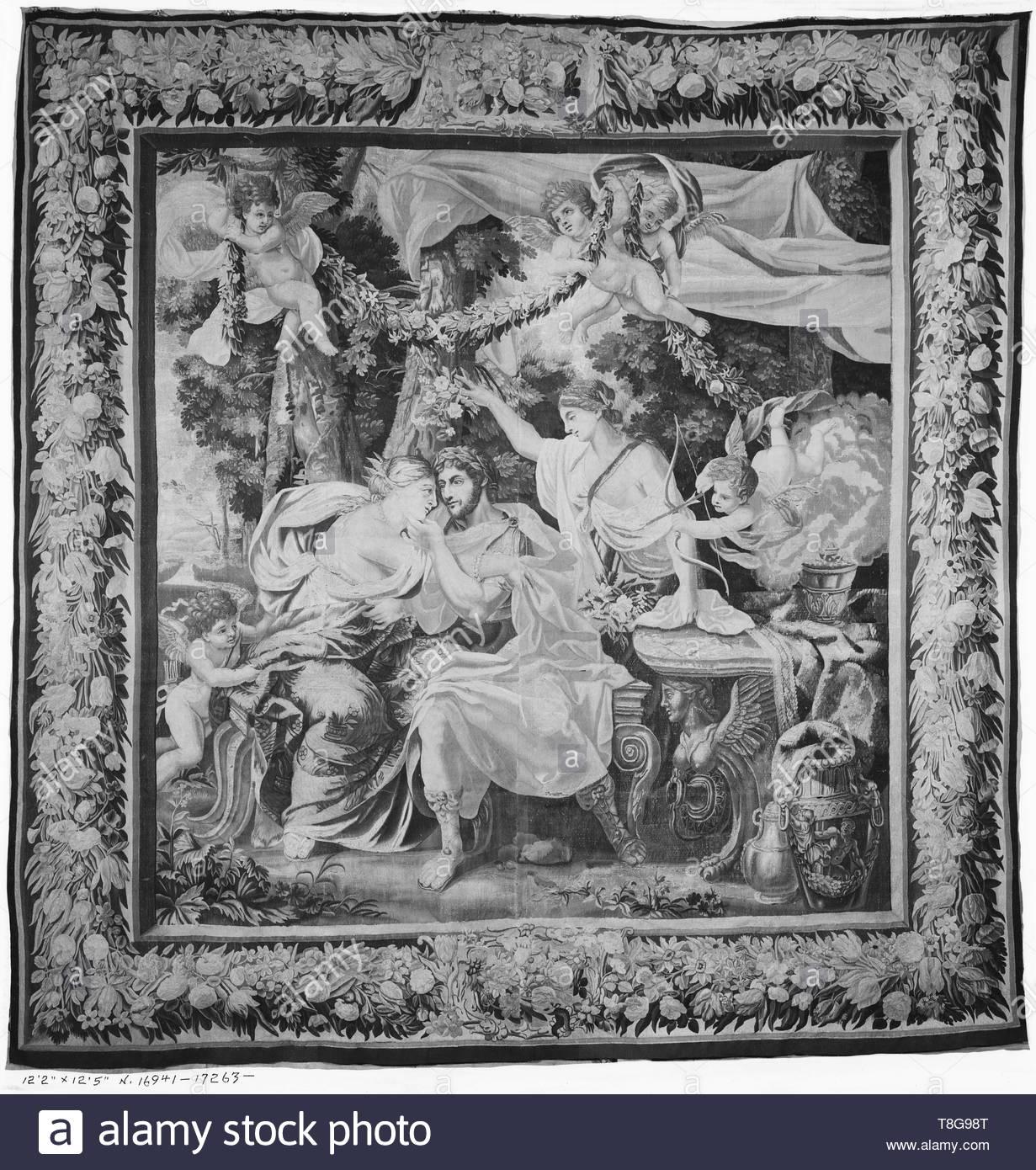 Aeneas Leaves Dido
