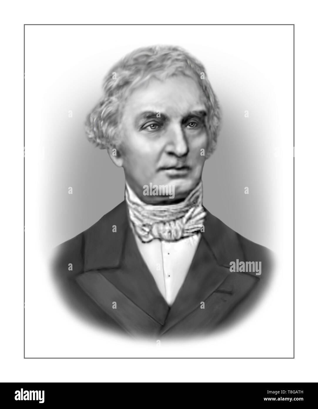 Justus von Liebig 1803-1873 German Chemist Stock Photo