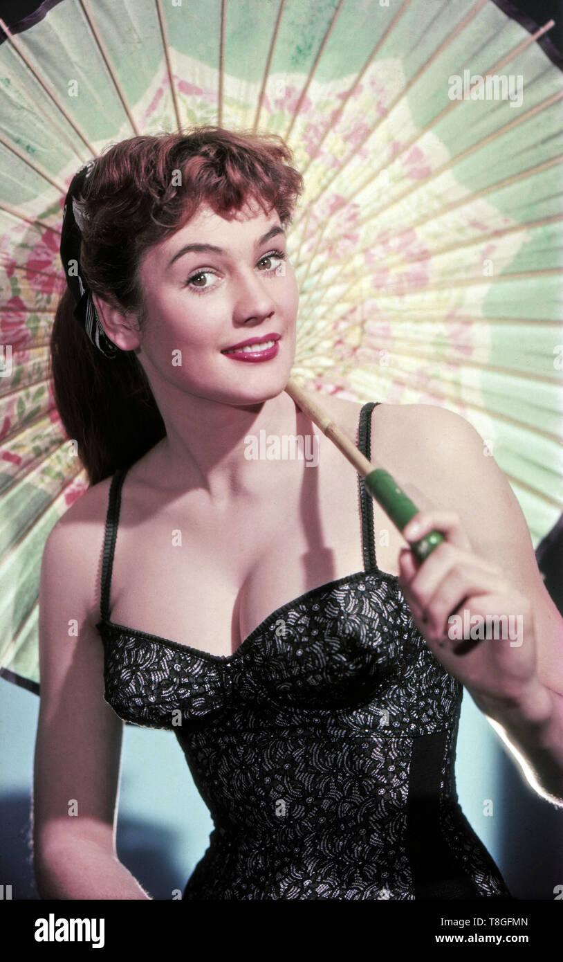 Inge Schaum, deutsche Schauspielerin, Deutschland ca. 1956. German actress Inge Schaum, Germany ca. 1956. - Stock Image