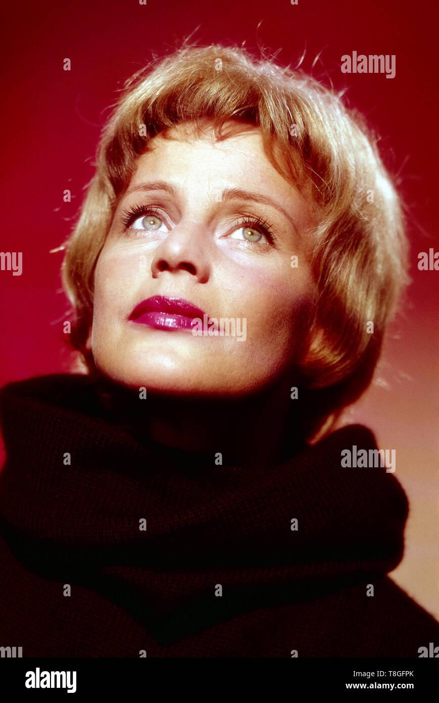The Hanging Tree, aka Der Galgenbaum, USA 1959, Regie: Delmer Daves, Karl Malden, Darsteller: Maria Schell - Stock Image