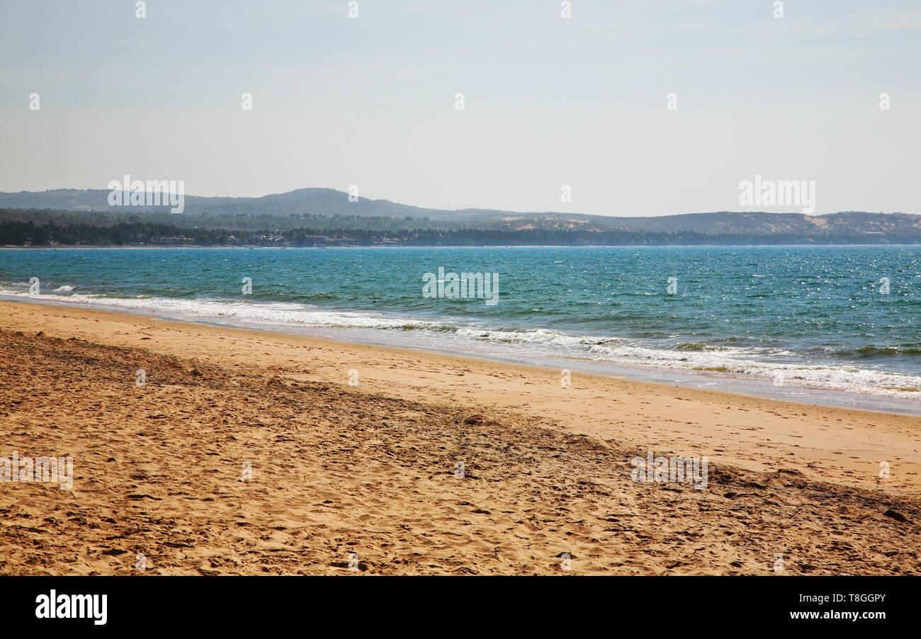 Coast in Phan Thiet. Vietnam - Stock Image