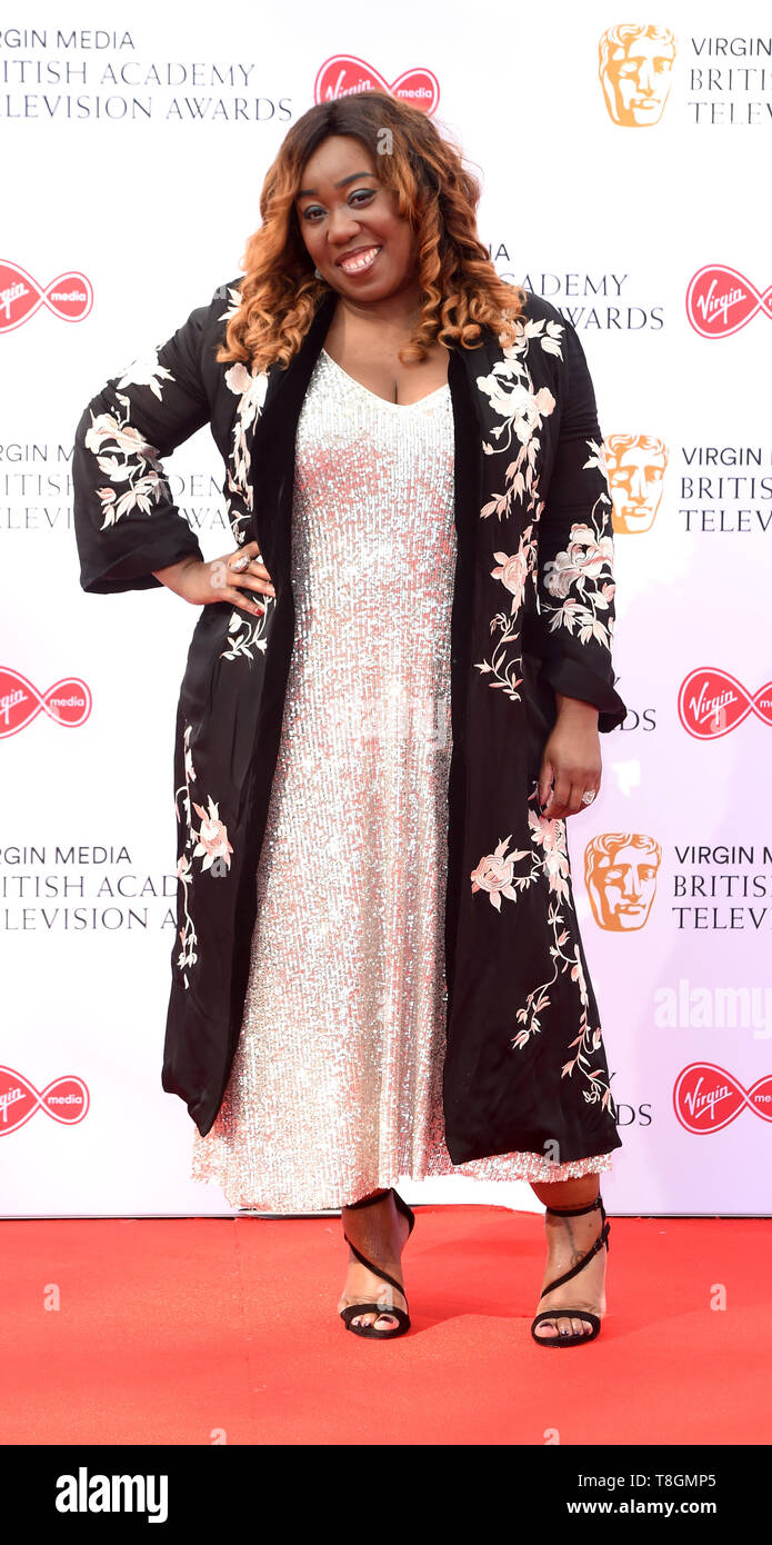 Photo Must Be Credited ©Alpha Press 079965 12/05/2019 Chizzy Akudolu  Virgin Media Bafta TV British Academy Television Awards Red Carpet Arrivals 2019 At The Royal Festival Hall London Stock Photo