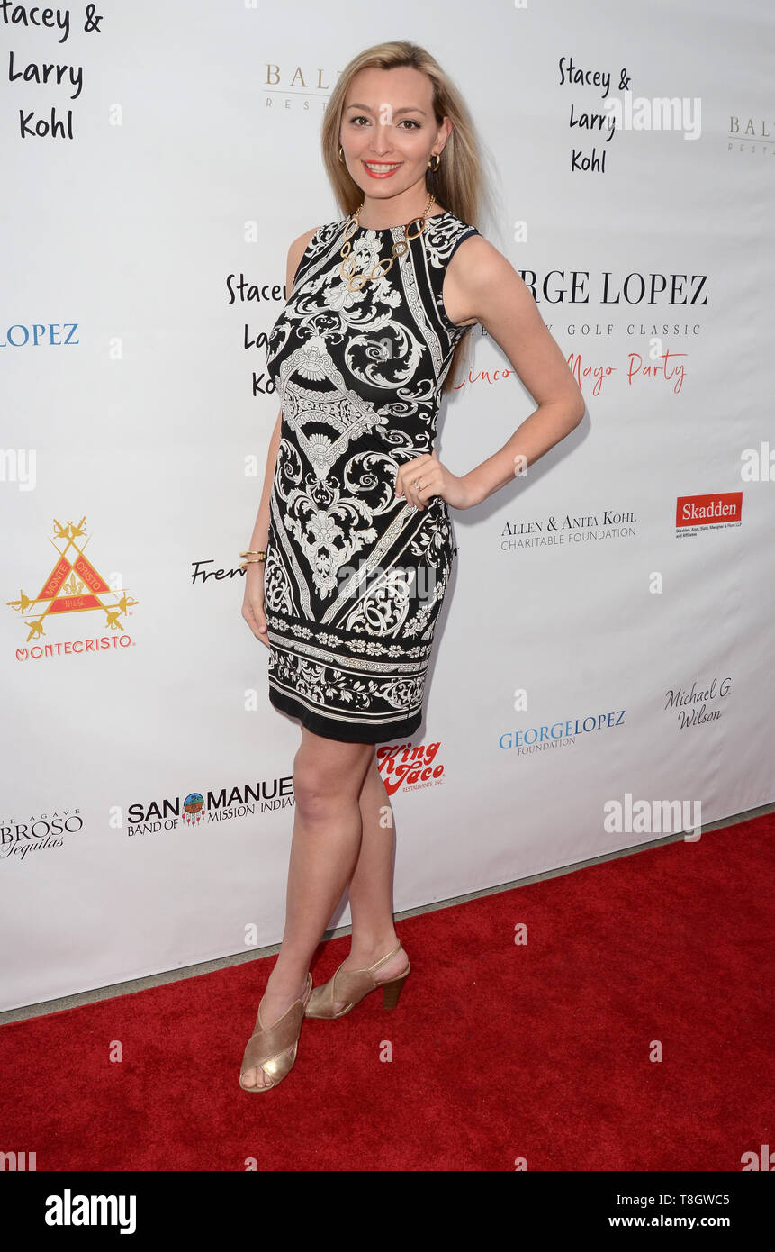 May 5, 2019 - Los Angeles, CA, USA - LOS ANGELES - MAY 5:  Joelle Posey at the 12th Annual George Lopez Foundation Celebrity Golf Classic ''Cinco De Mayo'' Party at the Baltaire Restaurant on May 5, 2019 in Los Angeles, CA (Credit Image: © Kay Blake/ZUMA Wire) - Stock Image