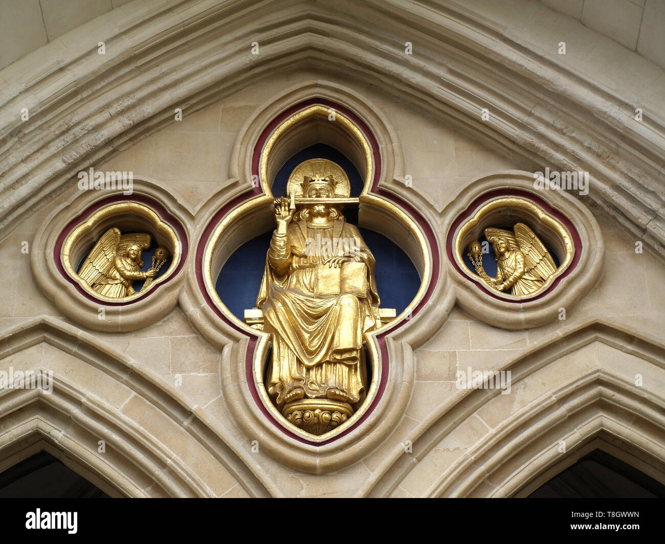Chichester Cathedral, West Sussex, England, UK - Stock Image