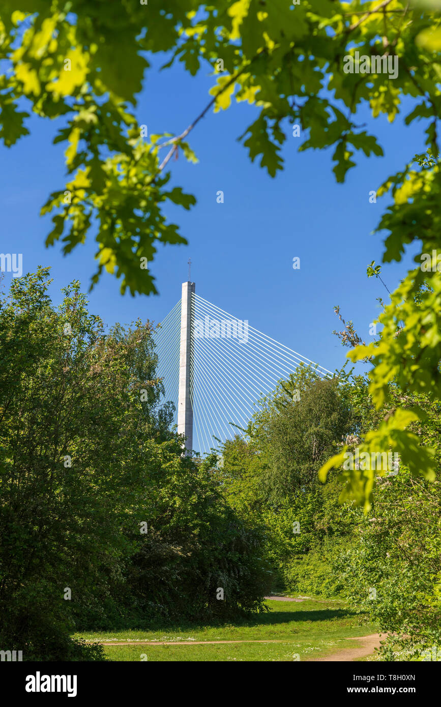 Halton Gateway bridge. Officially opened Saturday 14th October 2017. - Stock Image