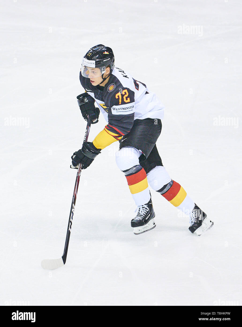 Ice Hockey Player In Action Stock Photos Ice Hockey Player In