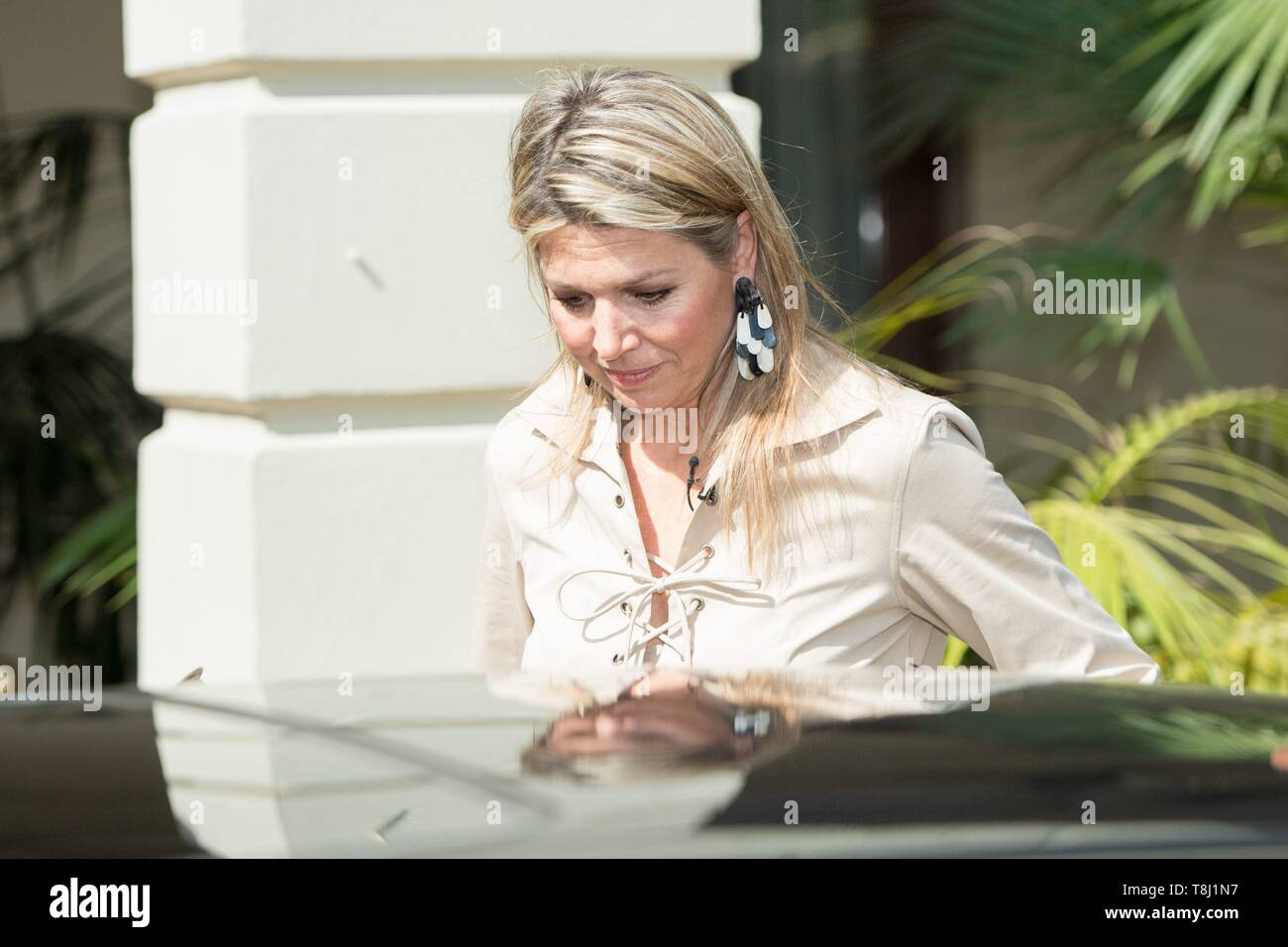 Addis Ababa, Ethiopia  14th May, 2019  Queen Maxima of The