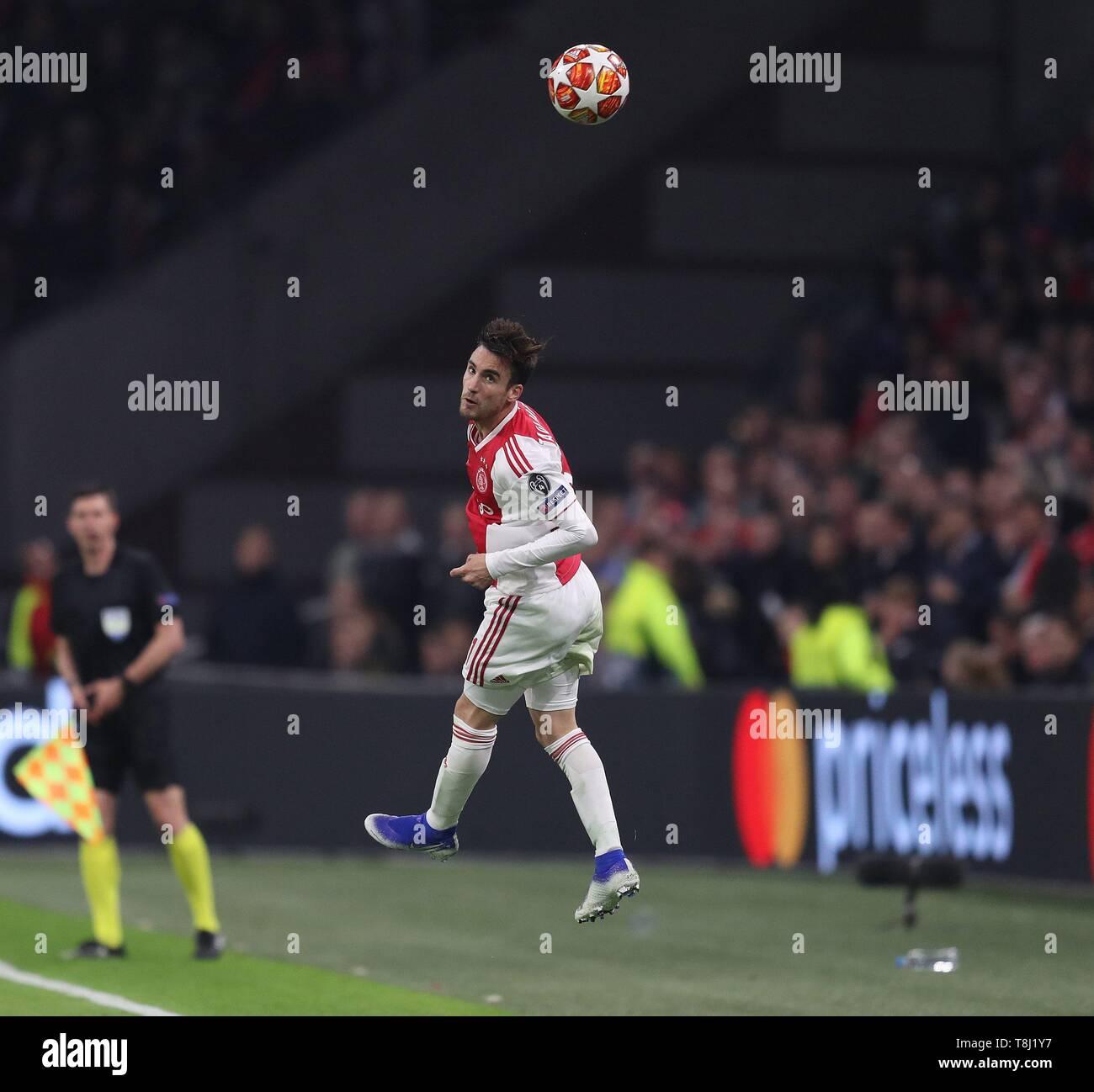 Tottenham Vs Ajax Semi Final: Nicolas Tagliafico Stock Photos & Nicolas Tagliafico Stock
