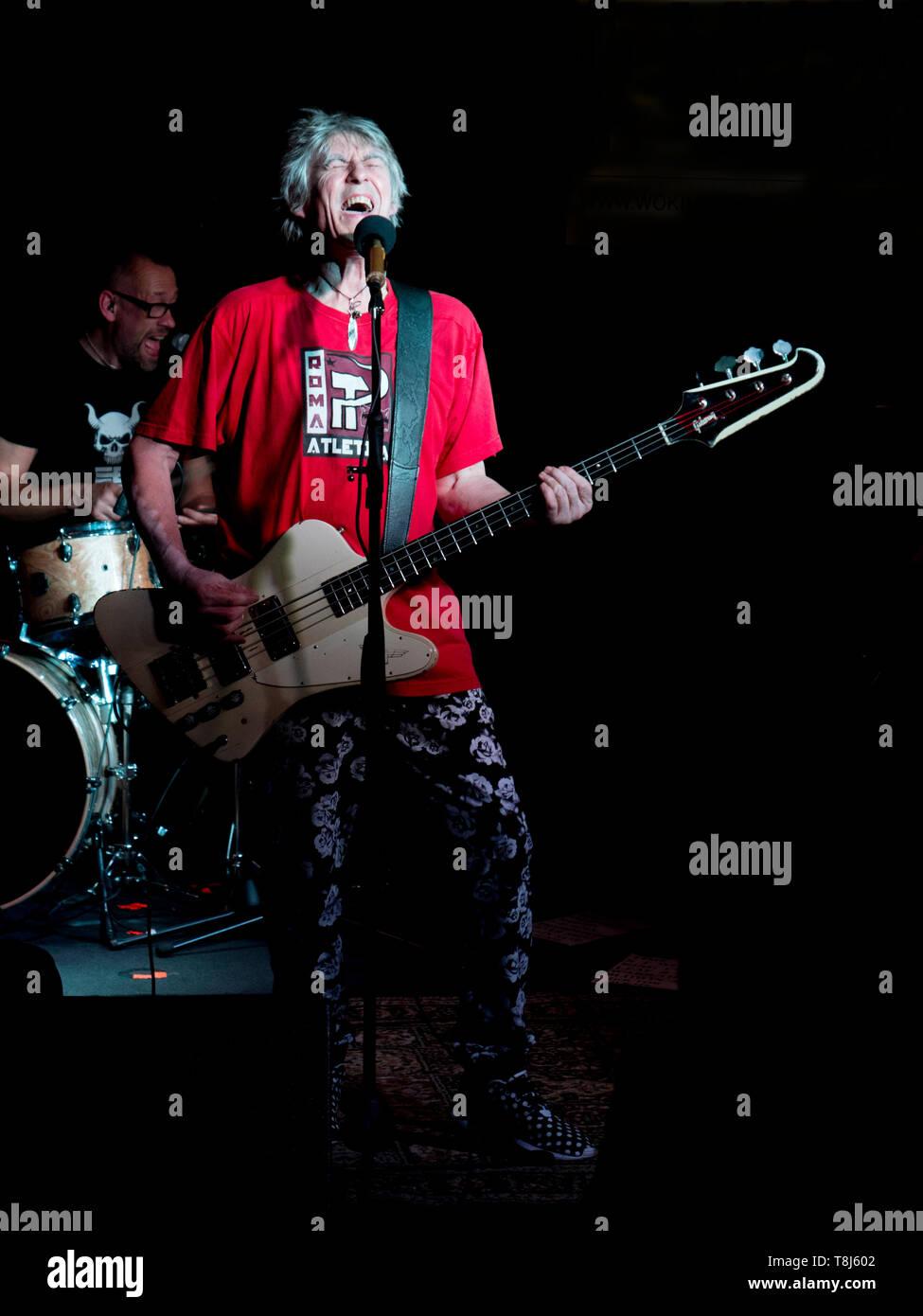 Martin Turner Bass player Stock Photo