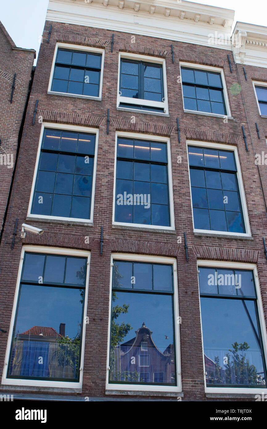 Anne Frank house in Amsterdam - Stock Image