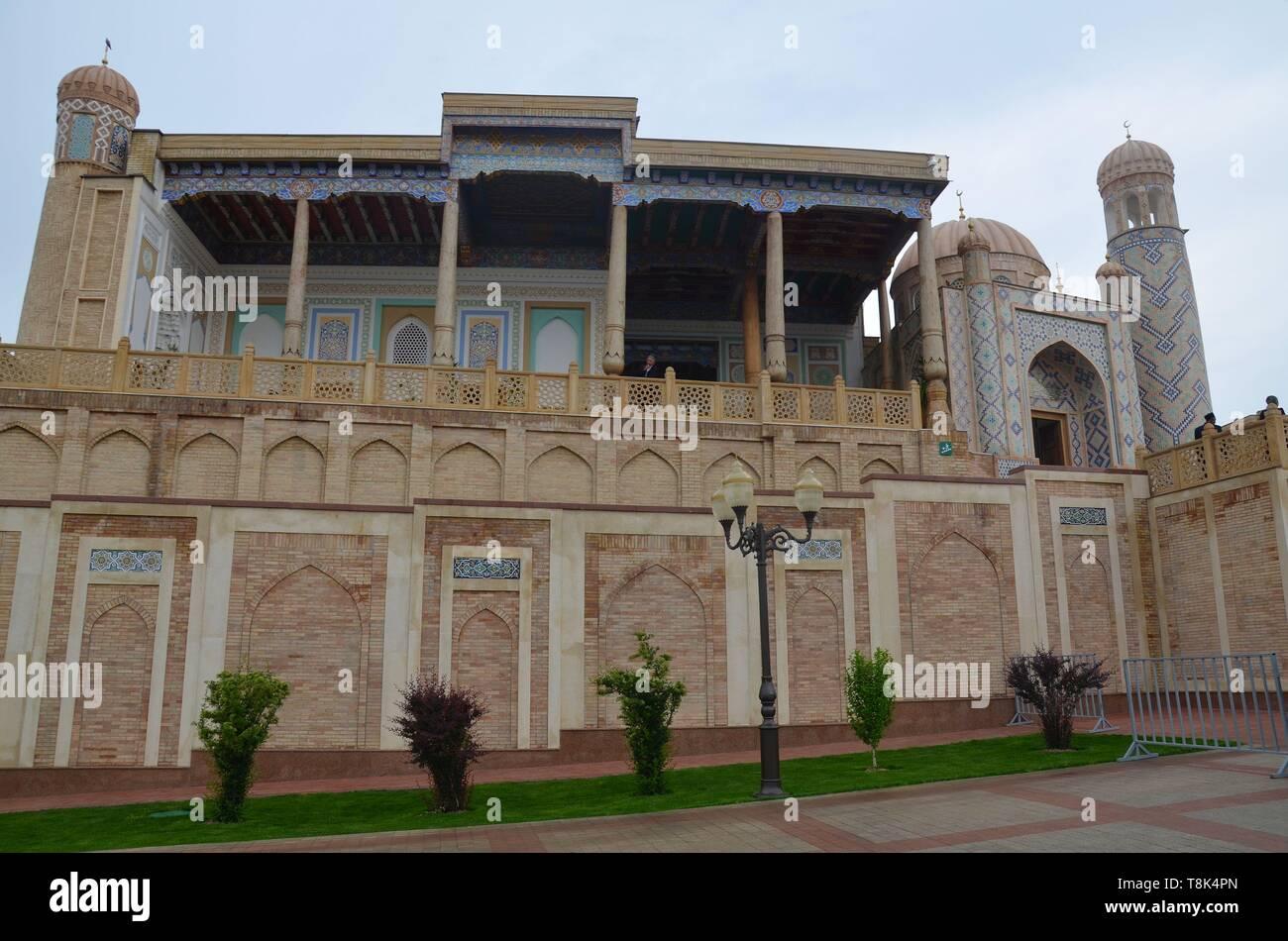 Samarkand, UNESCO Weltkulturerbe in Usbekistan: die Hasret Hisr Moschee Stock Photo