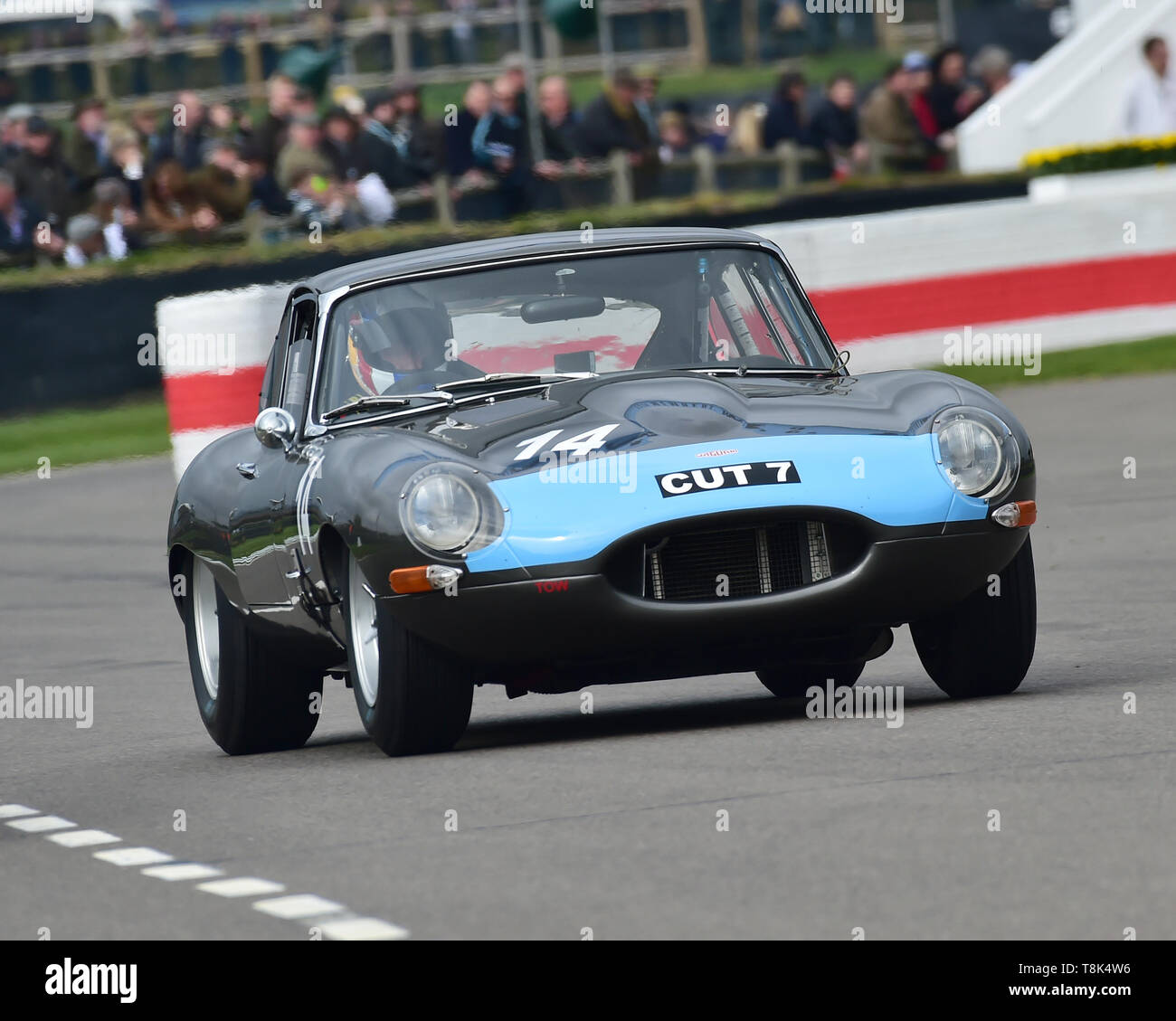 Richard Meins, Andrew Bentley, Jaguar E-Type FHC, Graham Hill Trophy, Closed cockpit GT cars, Prototype cars, Spirit of the RAC TT Races 1960-1964, 77 - Stock Image