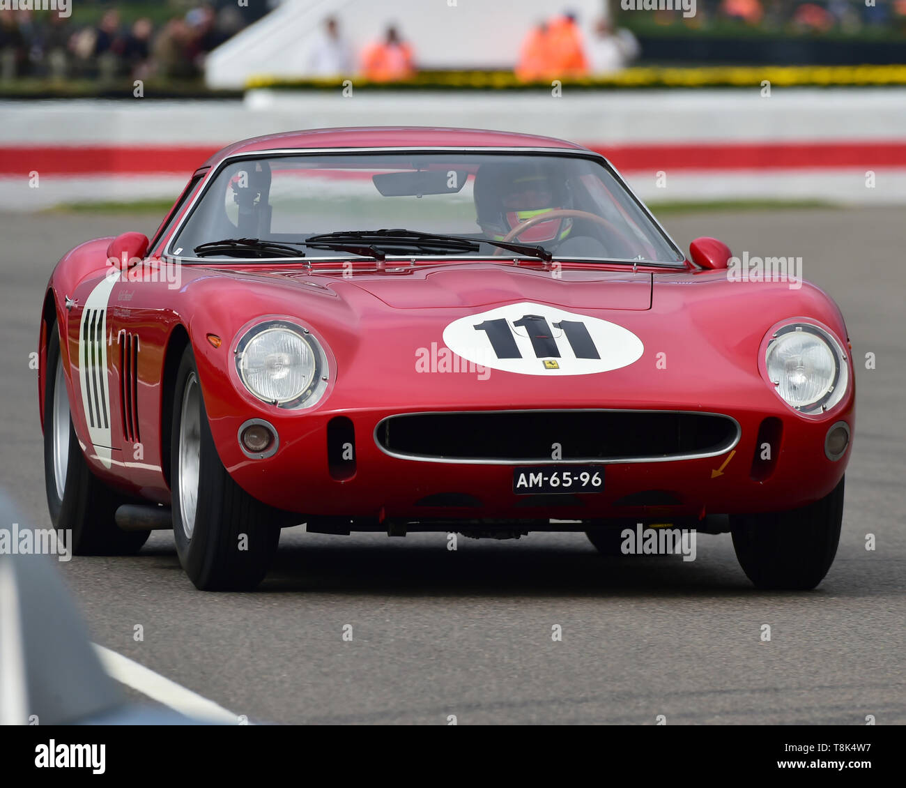 James Cottingham, Nicky Pastorelli, Ferrari 250 GTO, Graham Hill Trophy, Closed cockpit GT cars, Prototype cars, Spirit of the RAC TT Races 1960-1964, - Stock Image