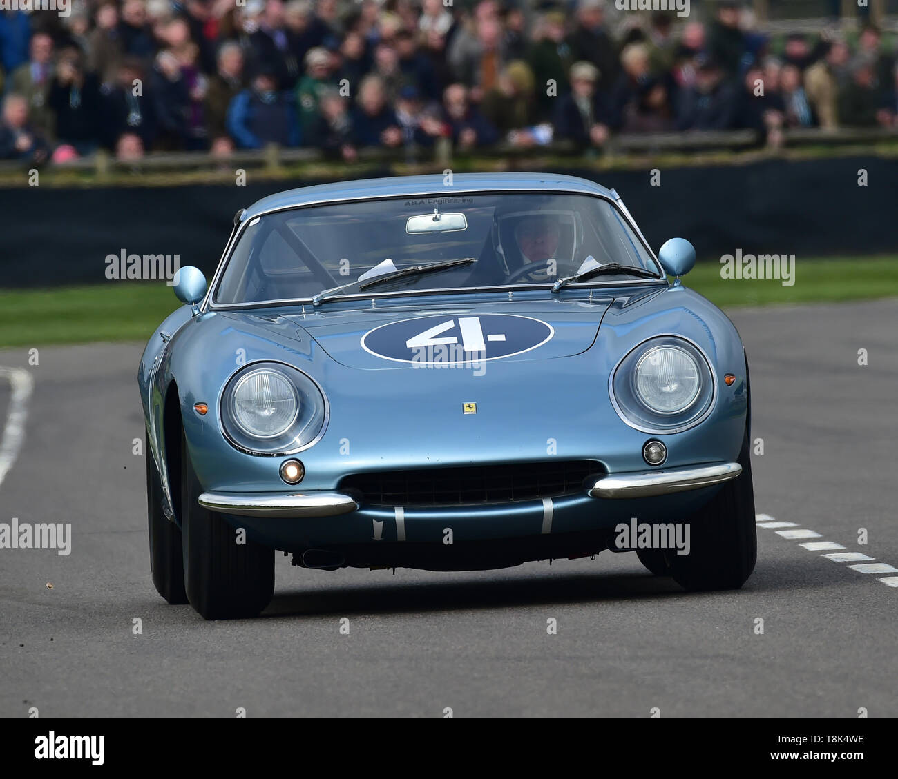 Joe Twyman, Vincent Gaye, Ferrari 275 GTB/C, Graham Hill Trophy, Closed cockpit GT cars, Prototype cars, Spirit of the RAC TT Races 1960-1964, 77th Me - Stock Image