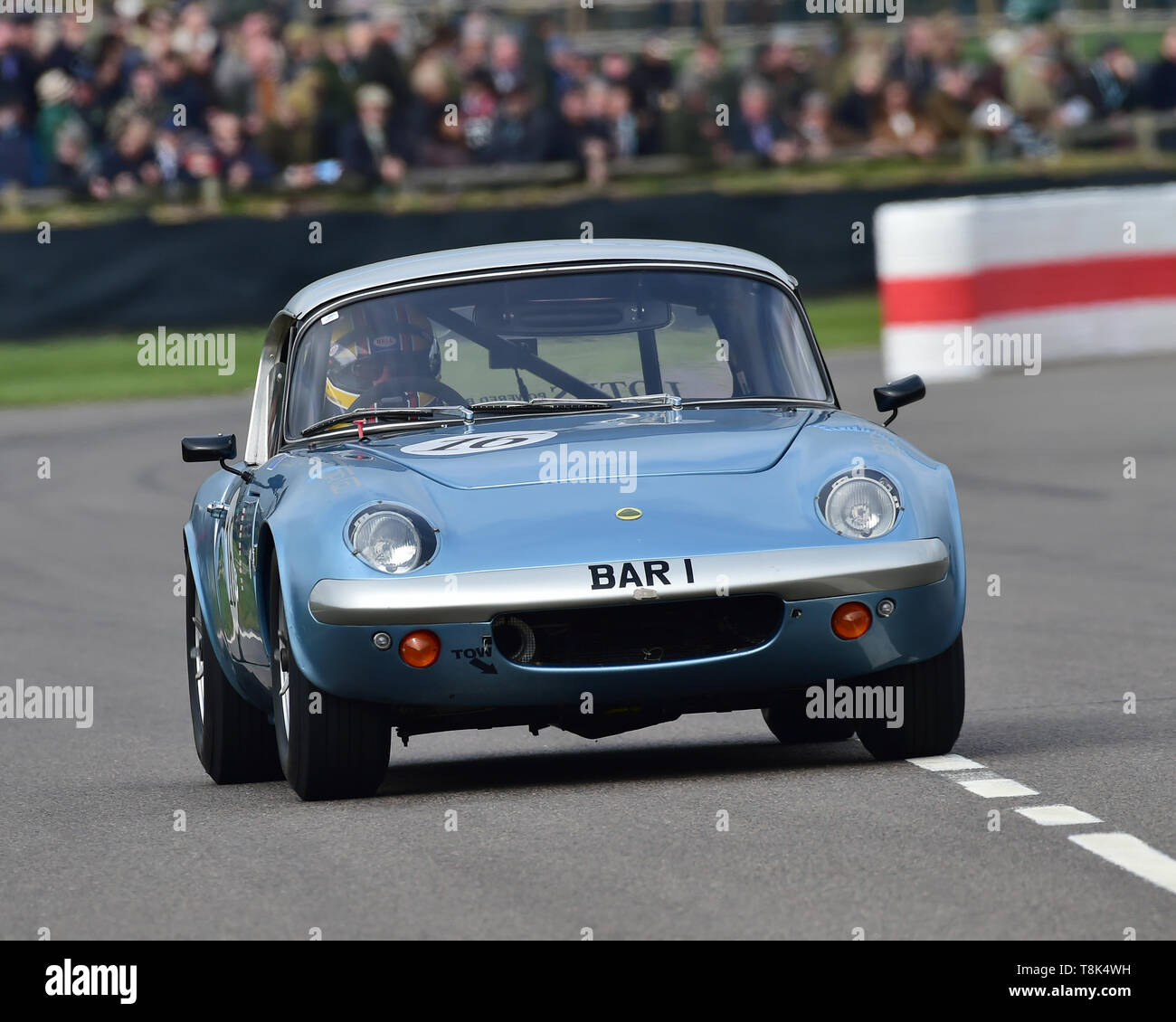 Robi Bernberg, Ian Bankhurst, Lotus Elan 26R, Graham Hill Trophy, Closed cockpit GT cars, Prototype cars, Spirit of the RAC TT Races 1960-1964, 77th M - Stock Image