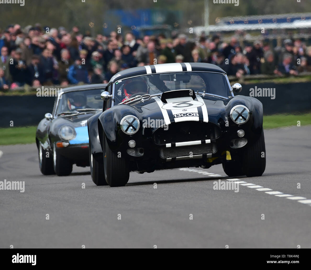 Anthony Reid, Nicolas Minassian, AC Cobra, Graham Hill Trophy, Closed cockpit GT cars, Prototype cars, Spirit of the RAC TT Races 1960-1964, 77th Memb - Stock Image