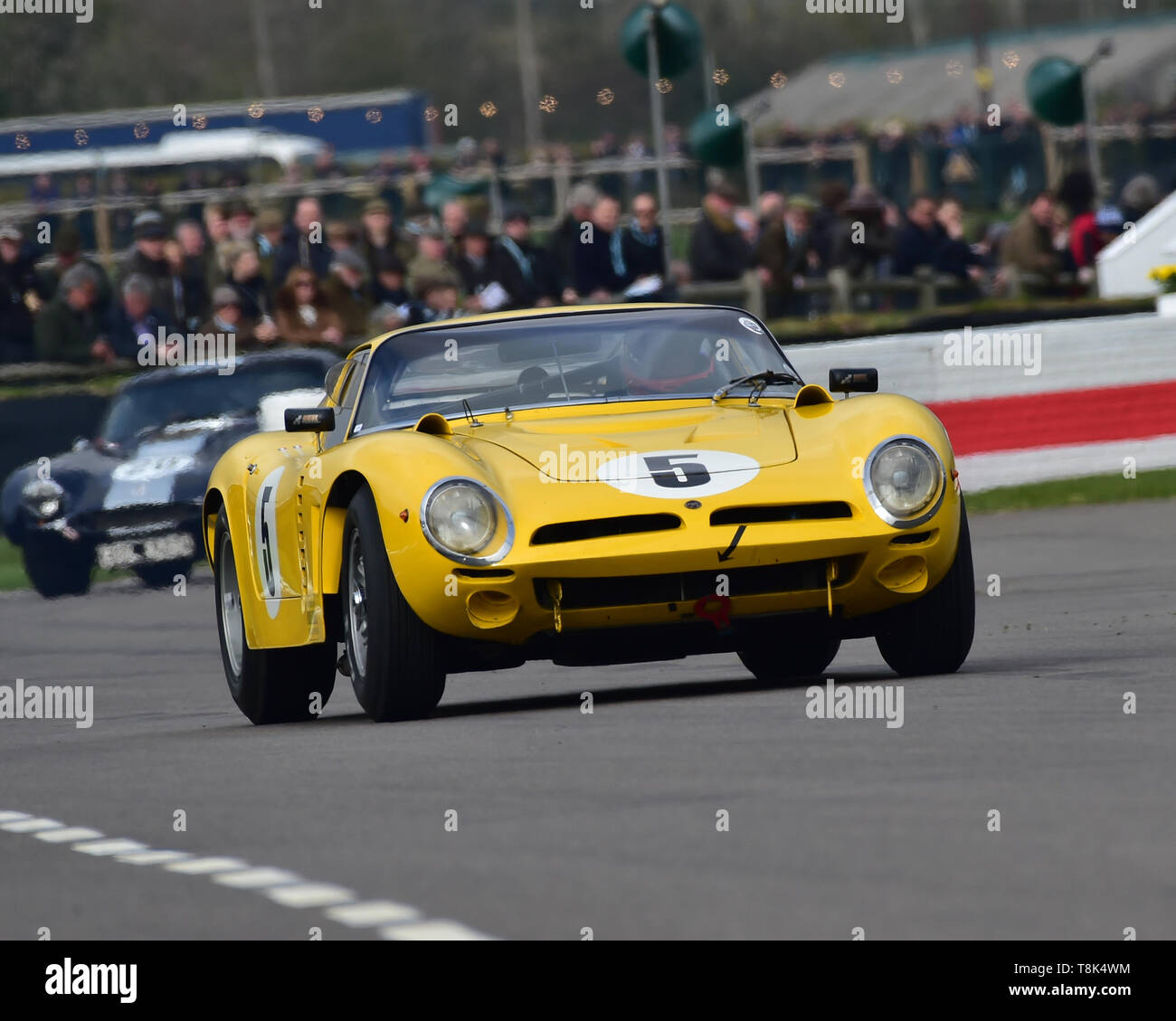 Yelmer Buurman, Alexander Van der Lof, Bizzarrini 5300GT, Graham Hill Trophy, Closed cockpit GT cars, Prototype cars, Spirit of the RAC TT Races 1960- - Stock Image