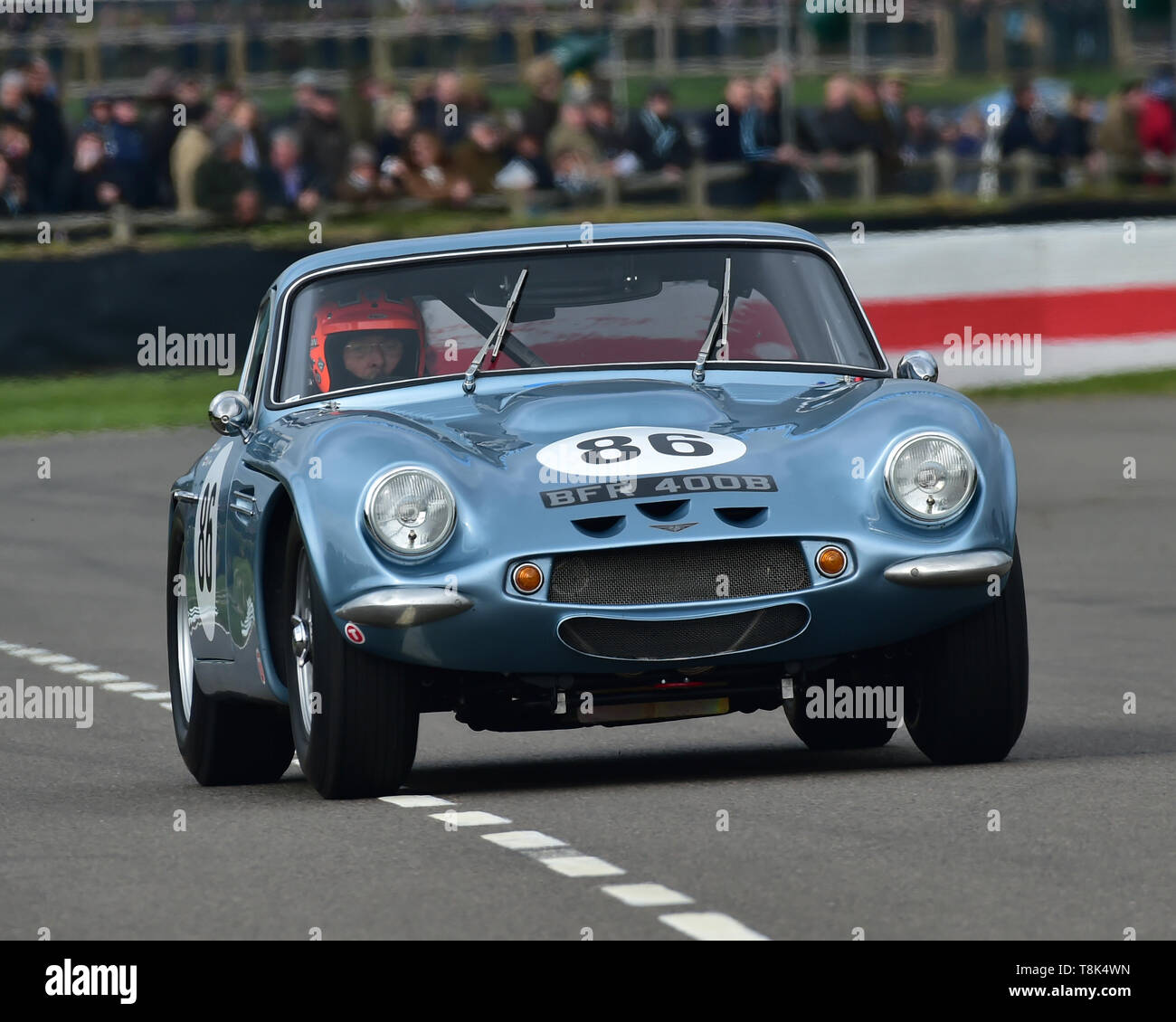 Mike Whitaker, Mike Jordan, TVR Griffith, Graham Hill Trophy, Closed cockpit GT cars, Prototype cars, Spirit of the RAC TT Races 1960-1964, 77th Membe - Stock Image