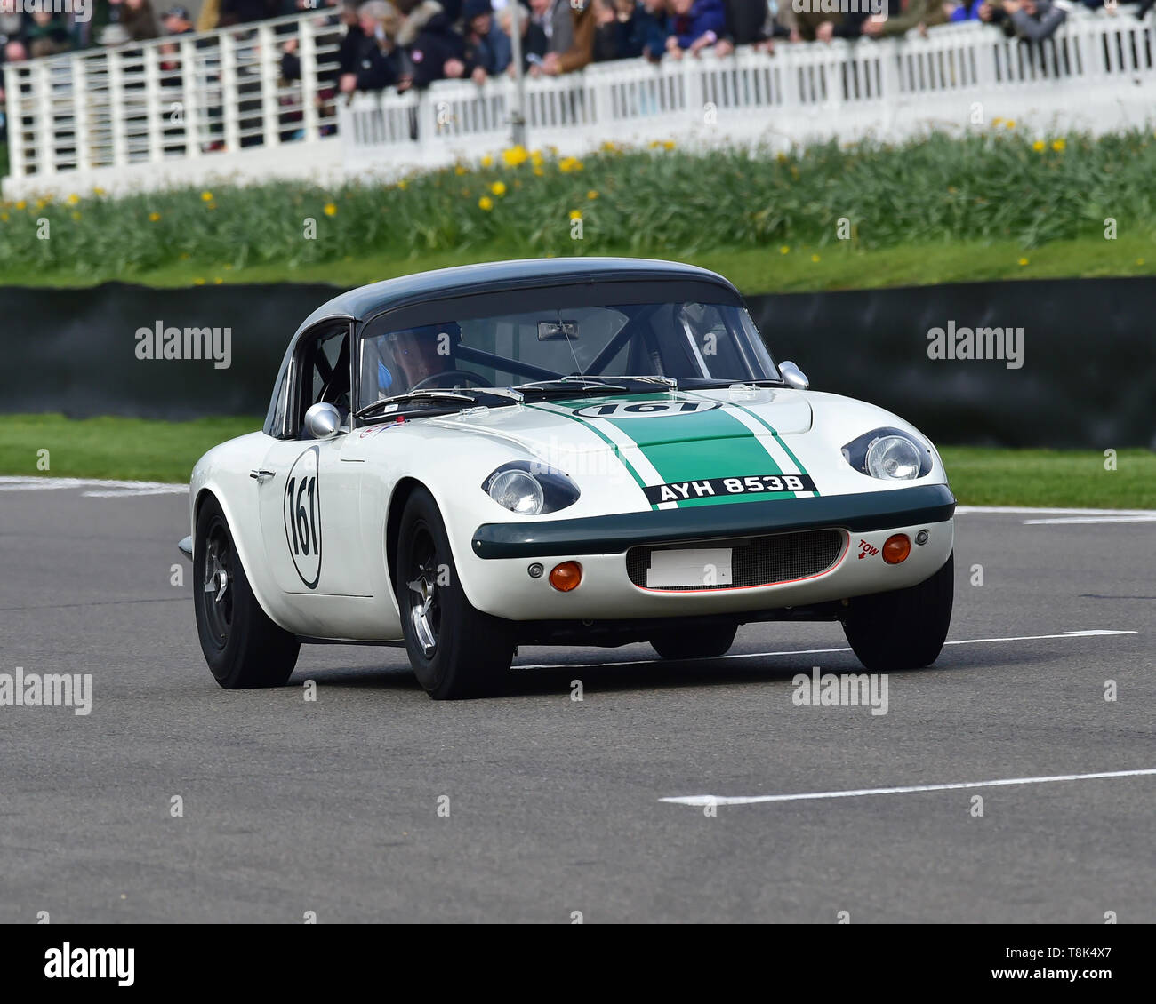 Andrew Haddon, Andy Wolfe, Lotus Elan 26R, Graham Hill Trophy, Closed cockpit GT cars, Prototype cars, Spirit of the RAC TT Races 1960-1964, 77th Memb - Stock Image