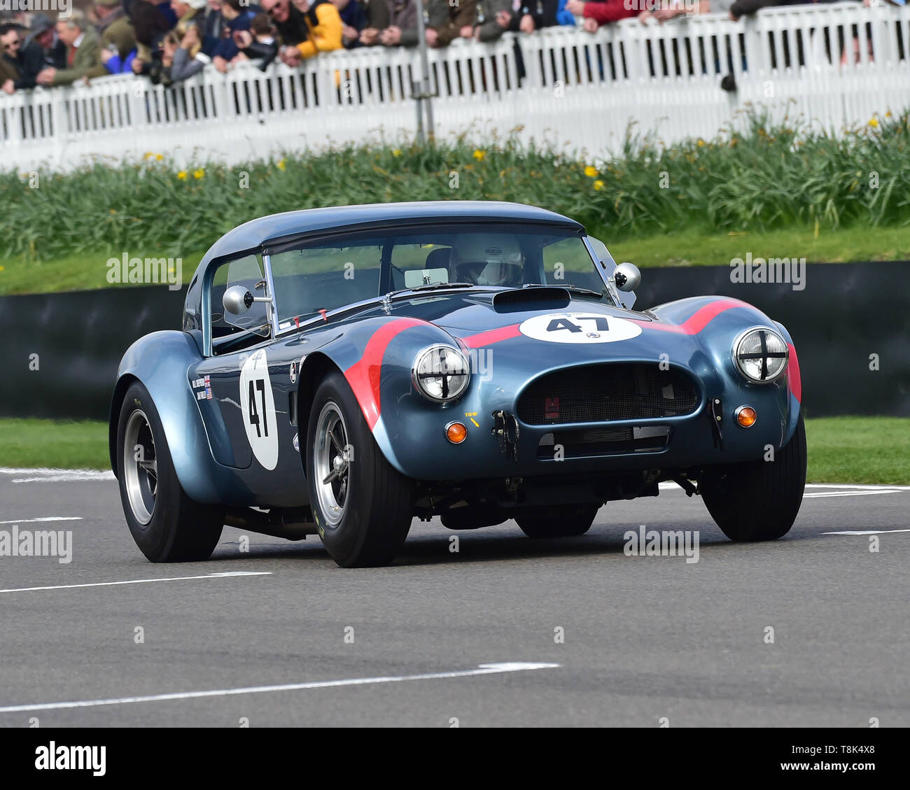 Jim Farley, Bill Shepherd, Shelby Cobra, Graham Hill Trophy, Closed cockpit GT cars, Prototype cars, Spirit of the RAC TT Races 1960-1964, 77th Member - Stock Image