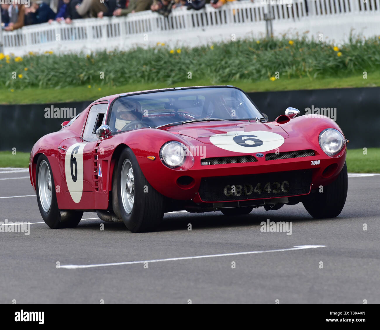 Steve Brooks, Ben Mitchell, Iso Grifo A3C, Graham Hill Trophy, Closed cockpit GT cars, Prototype cars, Spirit of the RAC TT Races 1960-1964, 77th Memb - Stock Image