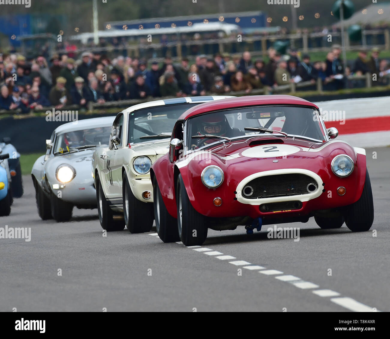 Martin Stretton, Michael Hinderer, AC Cobra, Graham Hill Trophy, Closed cockpit GT cars, Prototype cars, Spirit of the RAC TT Races 1960-1964, 77th Me - Stock Image