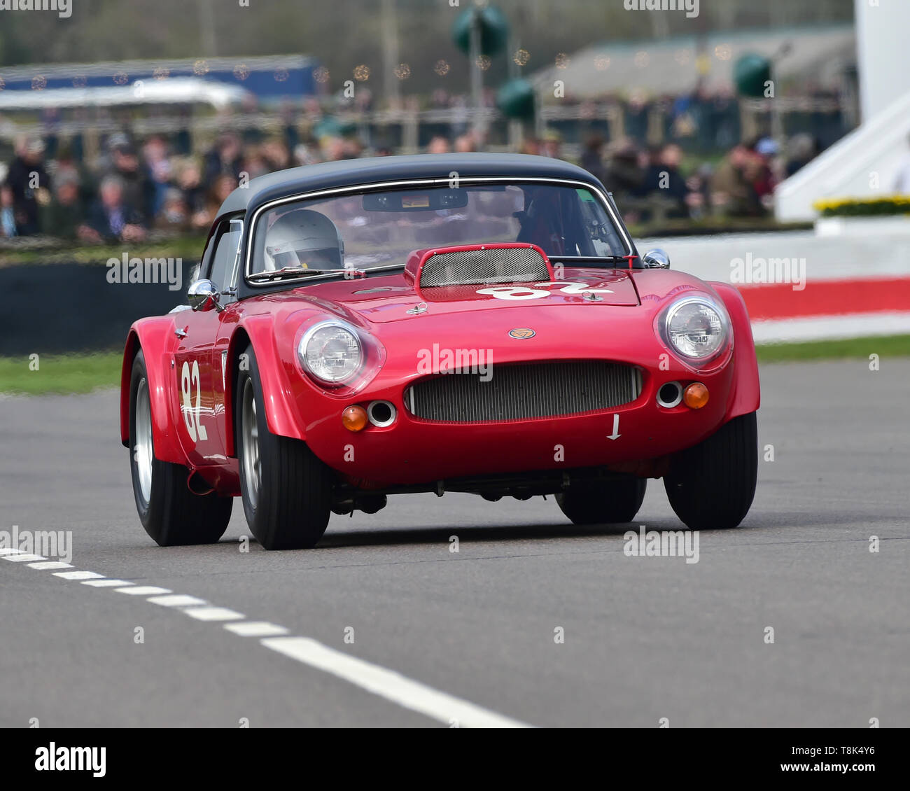 James Guess, James Hilliard, Ginetta G10, Graham Hill Trophy, Closed cockpit GT cars, Prototype cars, Spirit of the RAC TT Races 1960-1964, 77th Membe - Stock Image