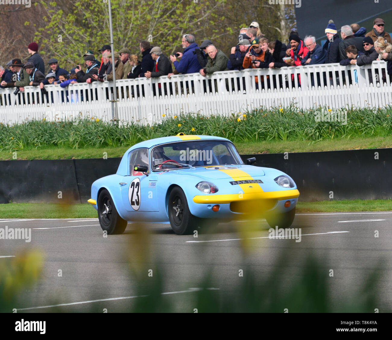 Anthony Hancock, Steve Nichols, Lotus Elan 26R, Graham Hill Trophy, Closed cockpit GT cars, Prototype cars, Spirit of the RAC TT Races 1960-1964, 77th - Stock Image