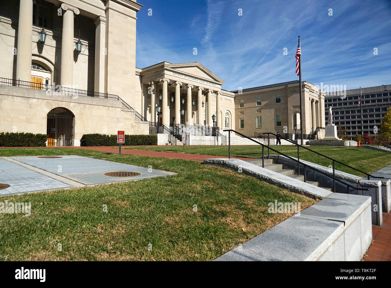 District of Columbia Court of Appeals in Judiciary Square. Washington D.C.USA - Stock Image