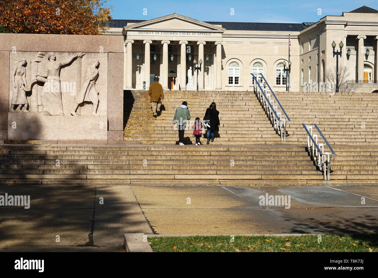 District of Columbia Court of Appeals in Judiciary Square. Washington D.C.USA Stock Photo