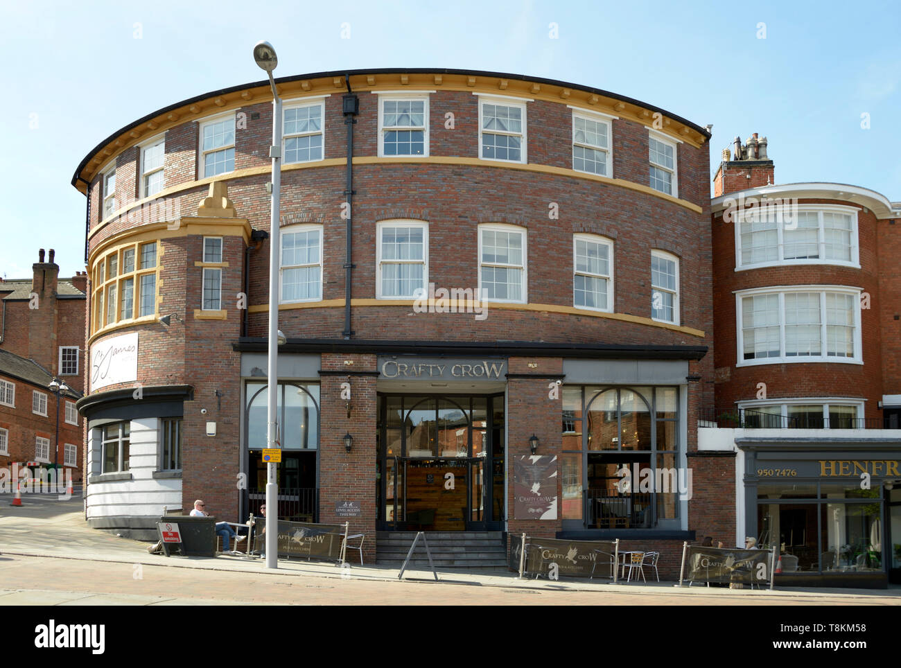 The Crafty Crow Pub, Friar Lane, Nottingham - Stock Image