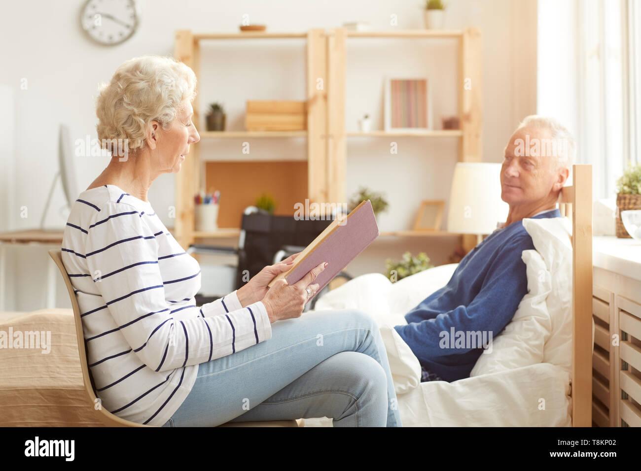 Senior Couple in Retirement - Stock Image