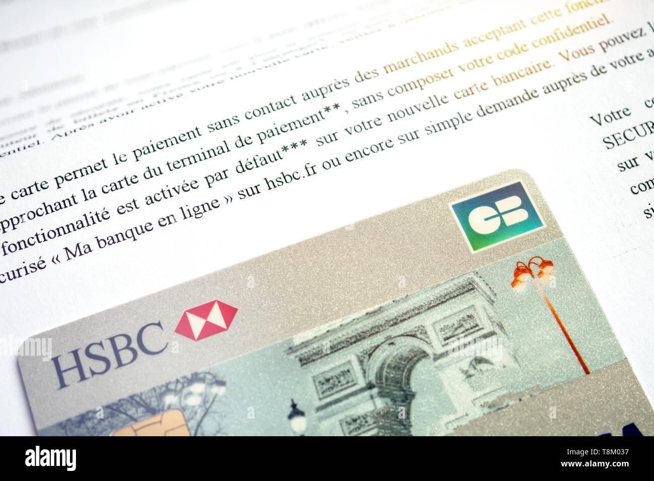 Hsbc Credit Card Stock Photos & Hsbc Credit Card Stock Images - Alamy