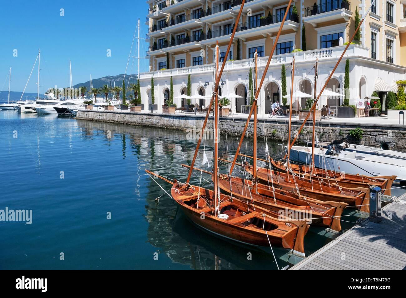 Porto Montenegro Karte.Boka Bay Boat Stock Photos Boka Bay Boat Stock Images Alamy