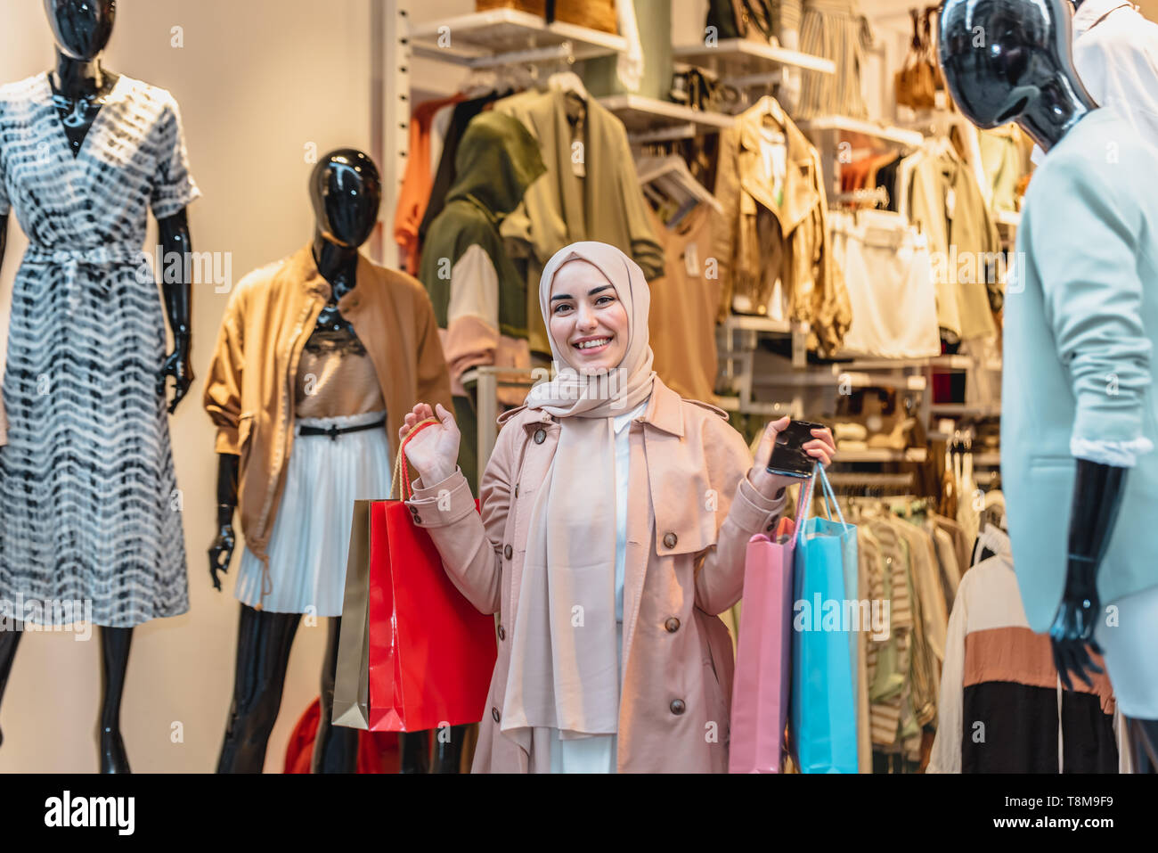 Muslim Clothes Store High Resolution Stock Photography and Images