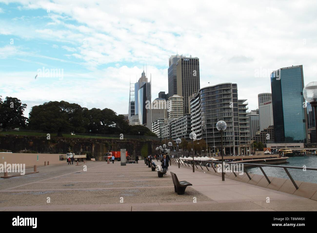 Beautiful Sydney skyline panoramic view - Stock Image