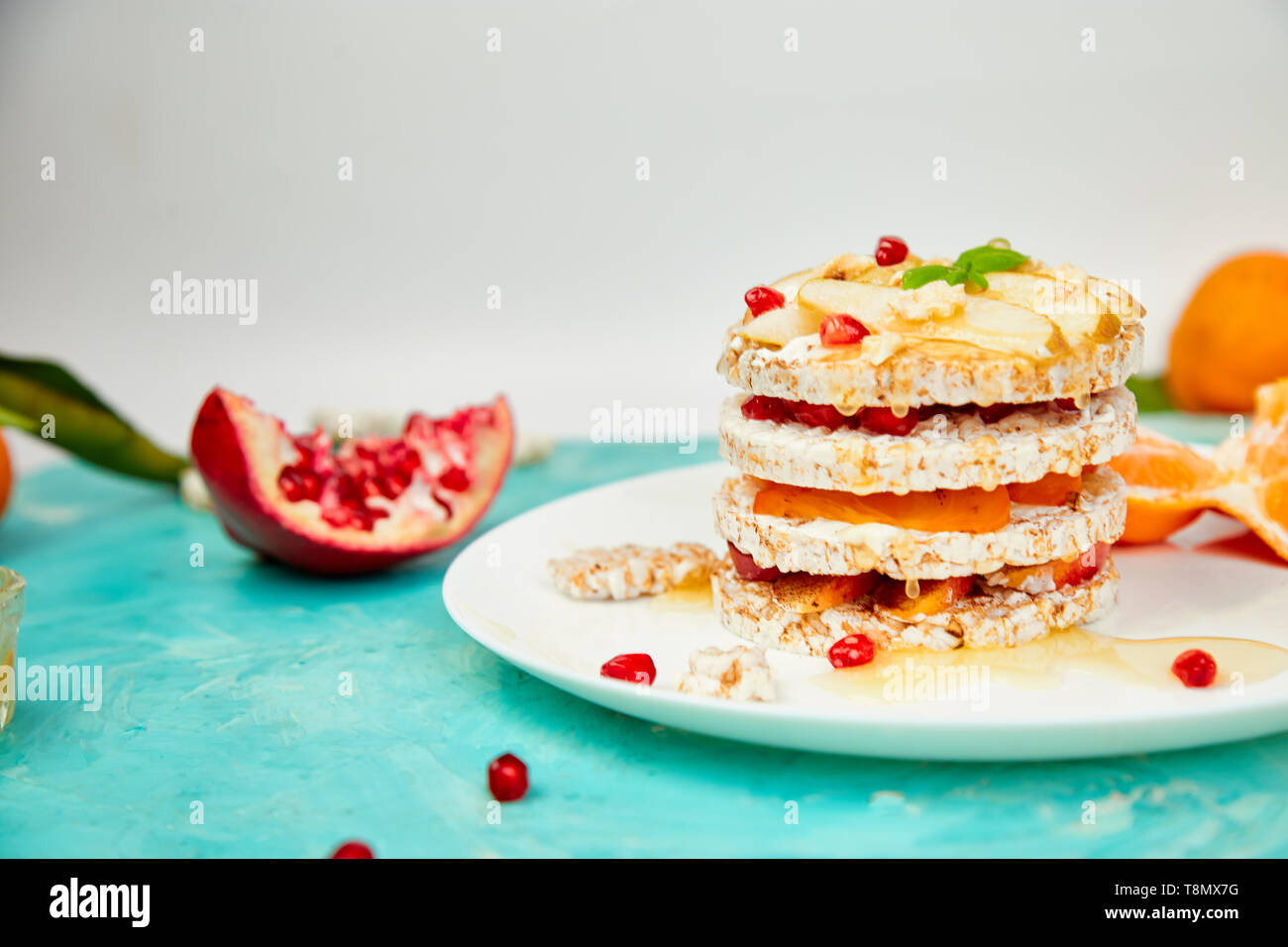 Super Vegan Diet Organic Natural Birthday Cake With Rice Crisp Bread Personalised Birthday Cards Akebfashionlily Jamesorg