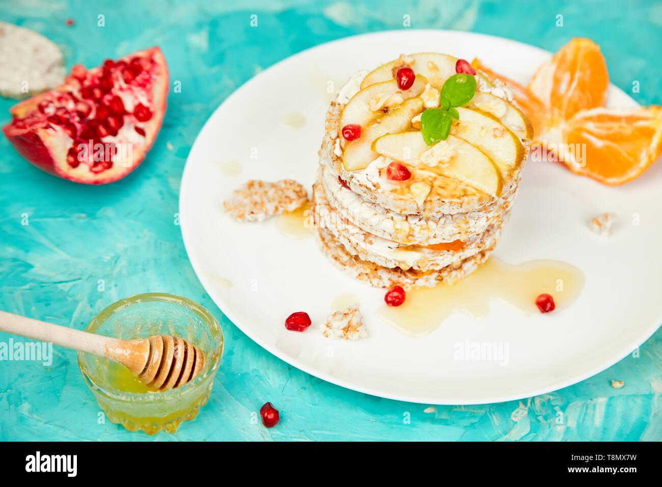 Marvelous Vegan Diet Organic Natural Birthday Cake With Rice Crisp Bread Personalised Birthday Cards Akebfashionlily Jamesorg