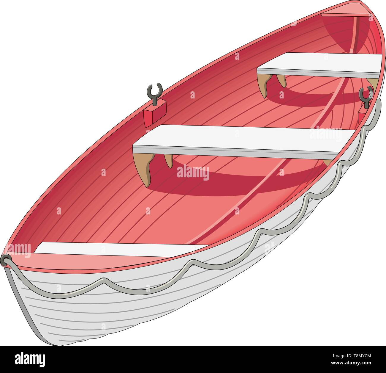 Life Boat Vector Illustration - Stock Vector