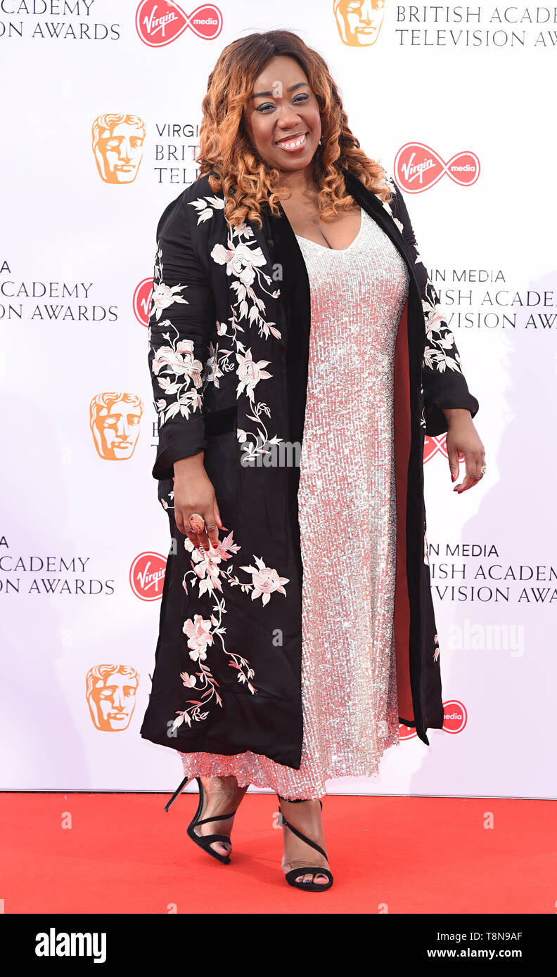 London, UK Chizzy Akudolu at The British Academy Television Awards held at  Festival Hall, Belvedere Road, London, on Sunday 12 May 2019   Ref: LMK392 -S2407-130519 Vivienne Vincent/Landmark Media.  WWW.LMKMEDIA.COM. Stock Photo